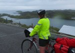Cycling in the Hebrides with all our camping gear