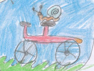 Lauras snailcycle artwork