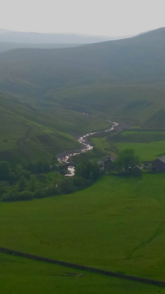 Borrowdale, but not the well known one. From the A6 South of Shap Fell