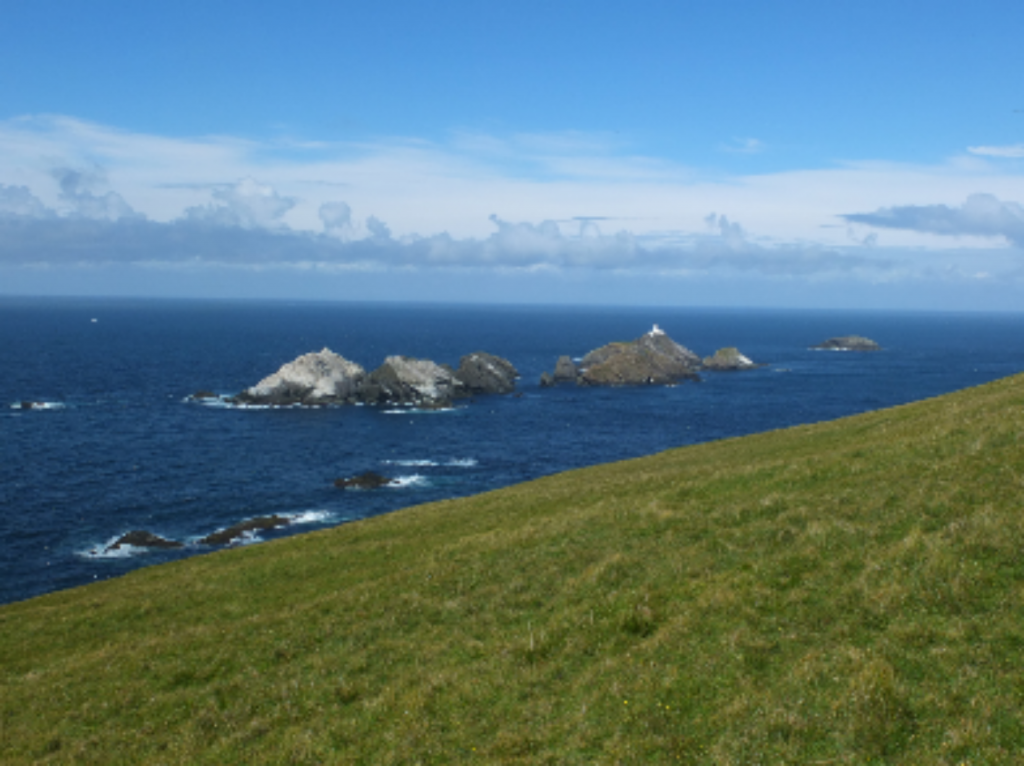 Muckle Flugga lighthouse from Hermaness