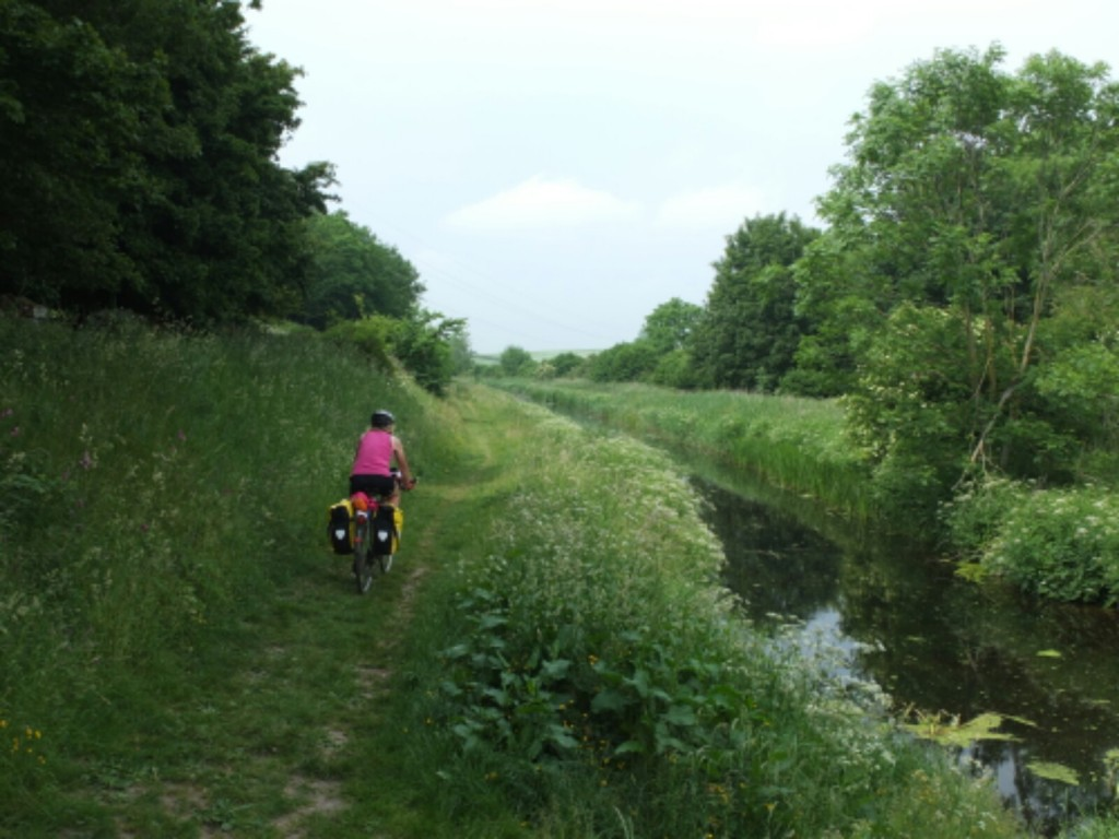 On the Lancaster canal