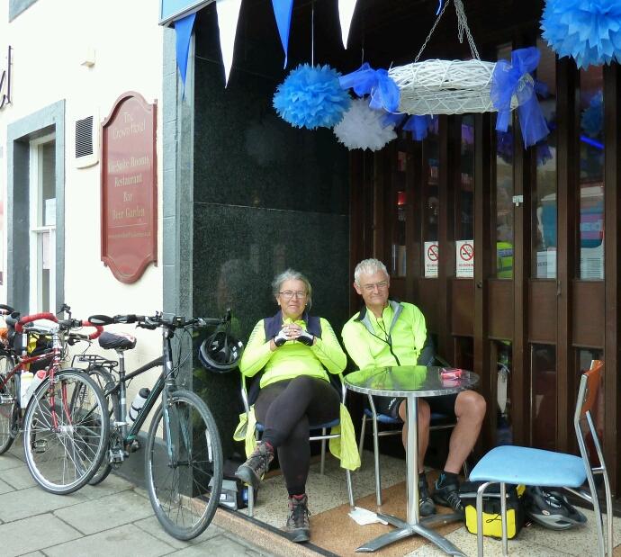 Sue and Martin in Lockerbie