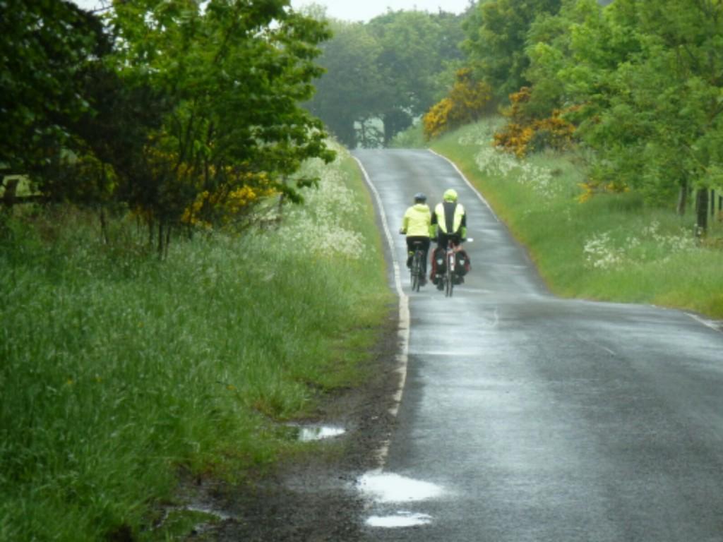 Pentland hills, Sue and Martin