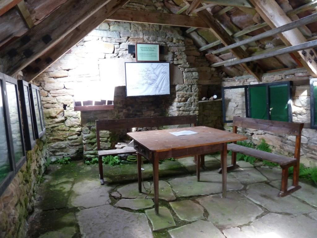 Inside the old school