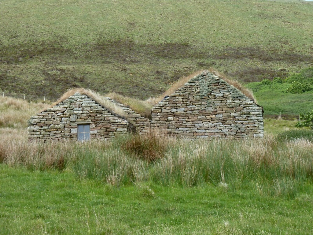 Turf roofed dwelling
