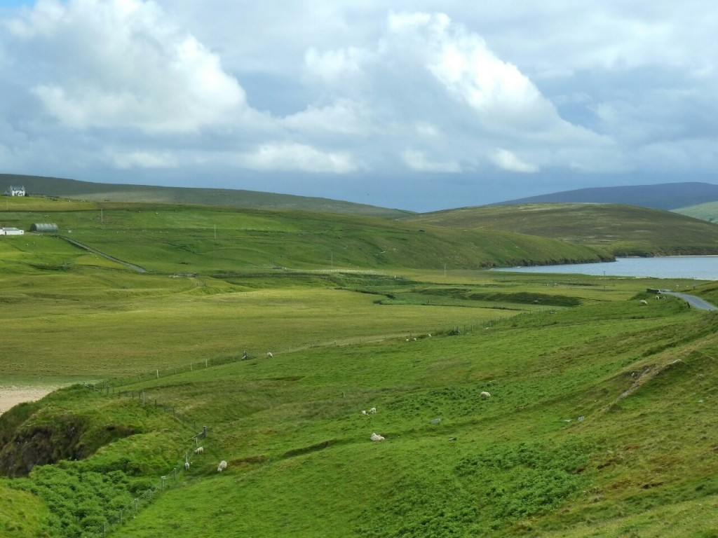Cycling through Unst