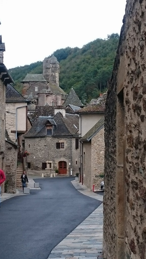 Estaing one of the pretty medieval villages on the Lot